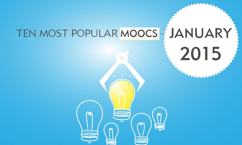 Ten Most Popular MOOCs Starting in Jan 2015